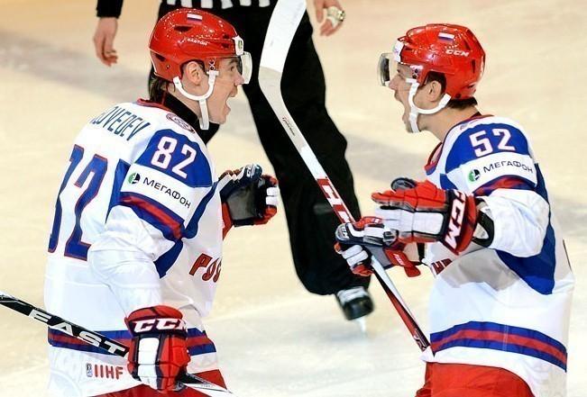 В Сочи сборная России по хоккею одержала досрочную победу в Кубке Первого канала