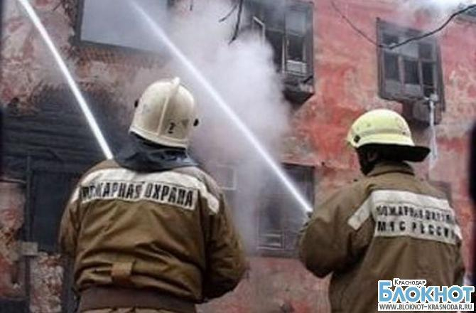В Новороссийске при пожаре погибли двое