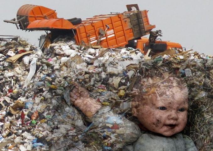НаКубани отыскали  малыша  насвалке: ребенок умер  отпереохлаждения