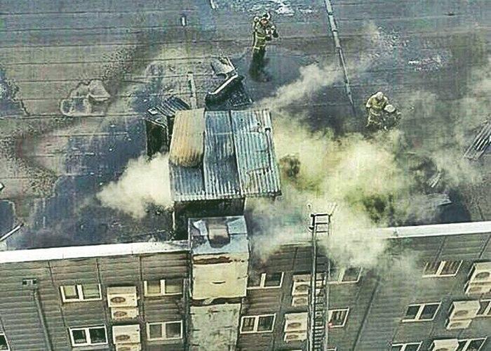 В Краснодаре произошел пожар в торговом центре «Версаль»