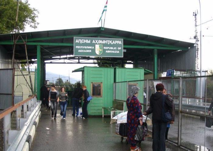 На российско-абхазской границе запретят фото и видеосъемку