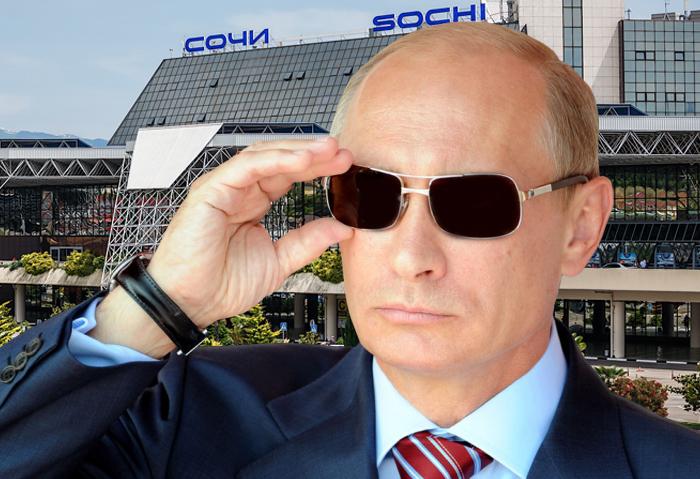 Путин обещал связать Сочи с Китаем авиасообщением
