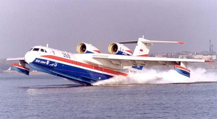 У спасателей Кубани будет еще один самолет-амфибия Бе-200