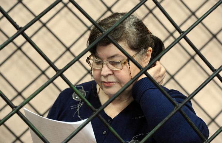 В Кущевском суде Надежда Цапок сказала последнее слово