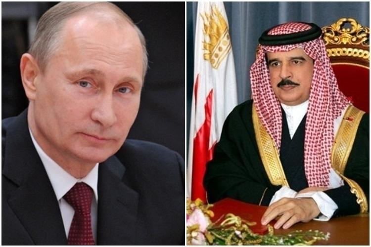 Владимир Путин проведет встречу с королем Бахрейна в Сочи