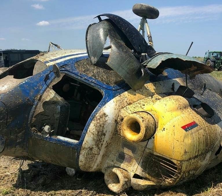 Вертолет Ми-2 разбился под Краснодаром