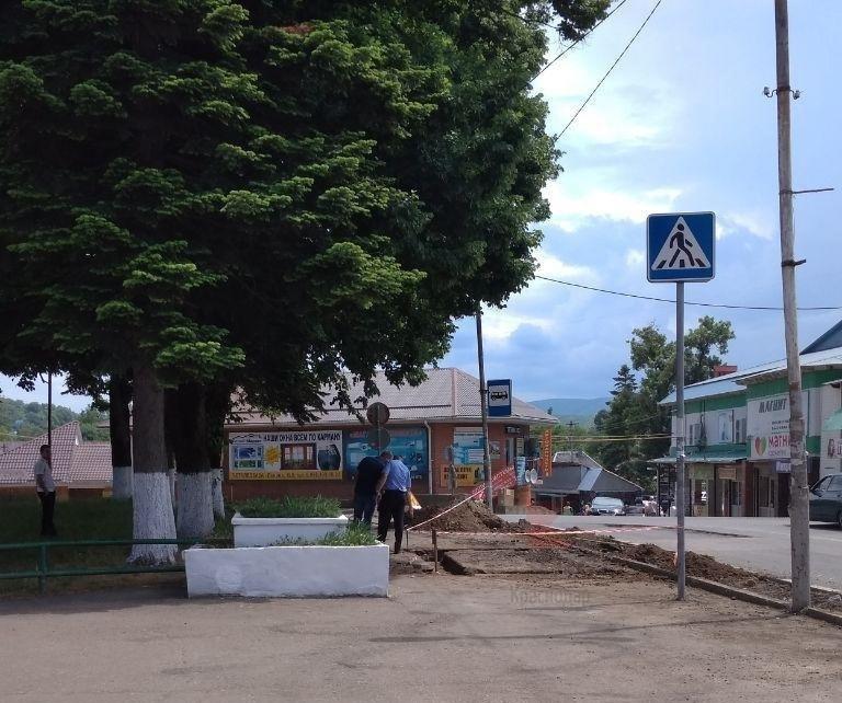Мину нашли во время ремонта дороги на юге Краснодарского края