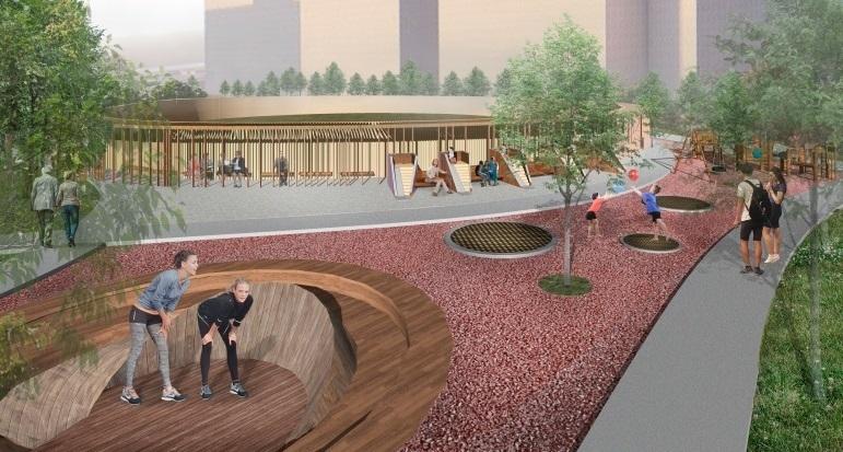 Будущий вид Николаевского бульвара представила главный архитектор Краснодара