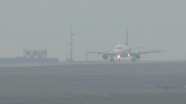 Четыре самолета не могут вылететь из Краснодаре