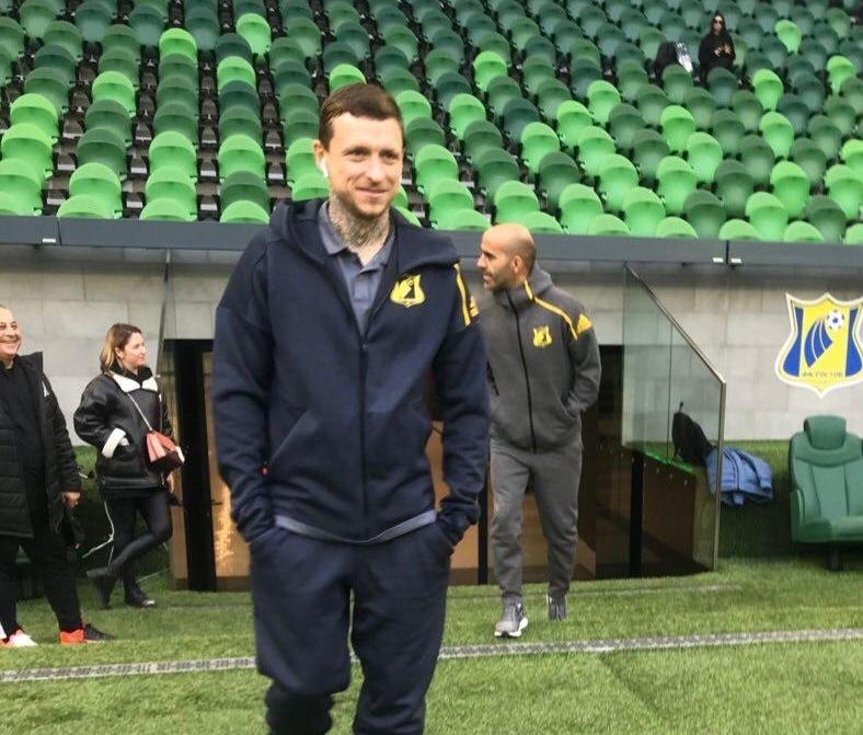 Павел Мамаев вновь вступил на газон стадиона «Краснодар»