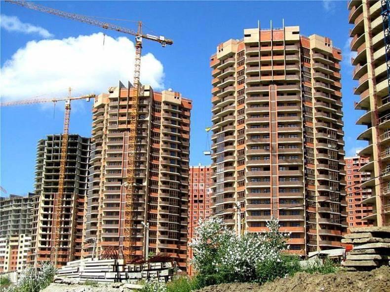 В Краснодарском крае стали быстрее строить многоэтажные дома