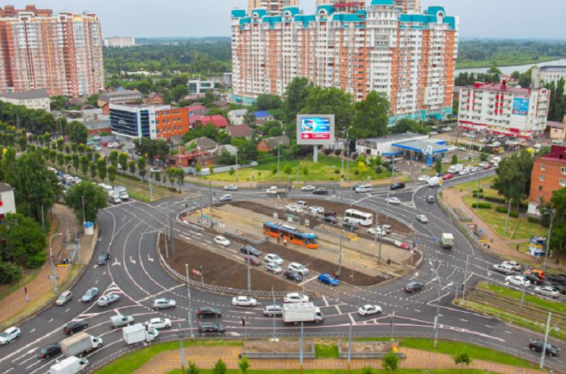 Власти Краснодара уверили, что пробки на Старокубанском кольце стали меньше