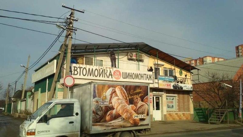 На СТО Краснодара нашли незаконно пристроенный второй этаж