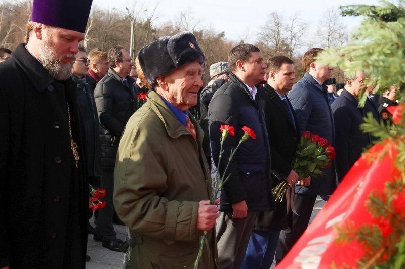 Более 5 тысяч краснодарцев почтили память освободителей города от фашистов