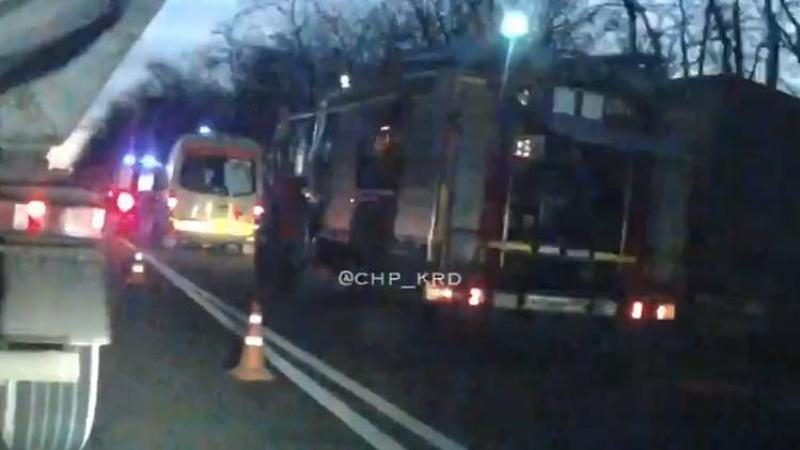 На Кубани молодой водитель устроил тройное ДТП: автомобилисты пострадали