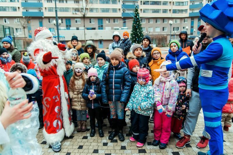 В ЖК «Центральный» состоялся праздник для маленьких жителей комплекса