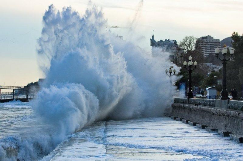 На Кубань из Европы надвигается циклон: ожидаются сильные дожди и снегопады