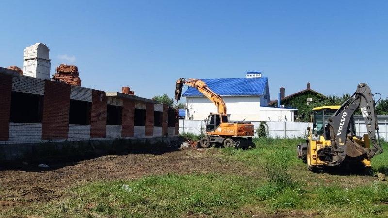 «Самострой» в Прикубанском округе Краснодара снесут на ранней стадии