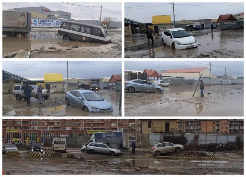 Чиновники пообещали навести порядок на улице Автомобильной в Краснодаре