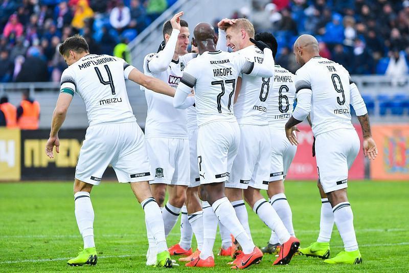 ФК «Краснодар» обыграл «Арсенал» и впервые попал в Лигу чемпионов