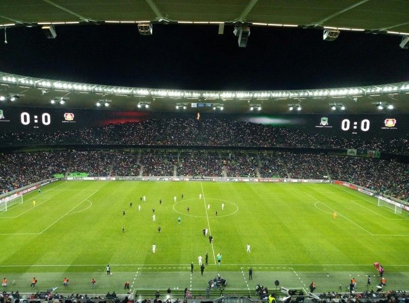«Краснодар» установил рекорд посещаемости стадиона