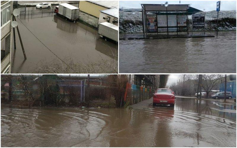 Краснодар затопленный: город ушел под воду после ночного ливня