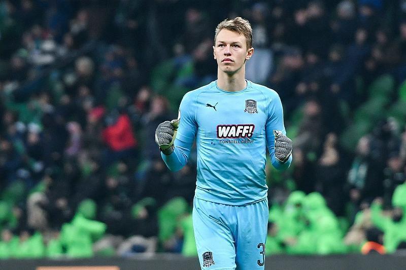 Лучшим игроком ФК «Краснодар» в апреле стал вратарь Сафонов