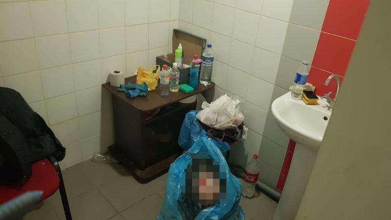 На железнодорожном вокзале Краснодара найден труп новорожденного ребенка