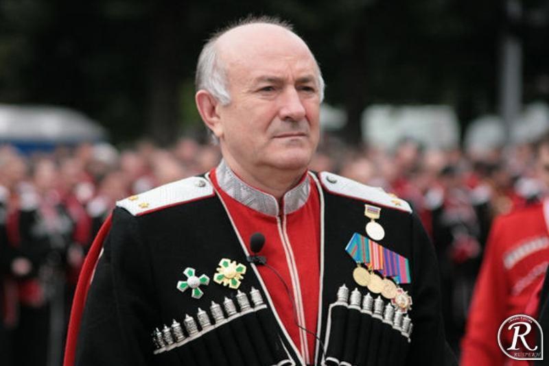 Путин назначил вице-губернатора Кубани Долуду атаманом Всероссийского казачьего общества
