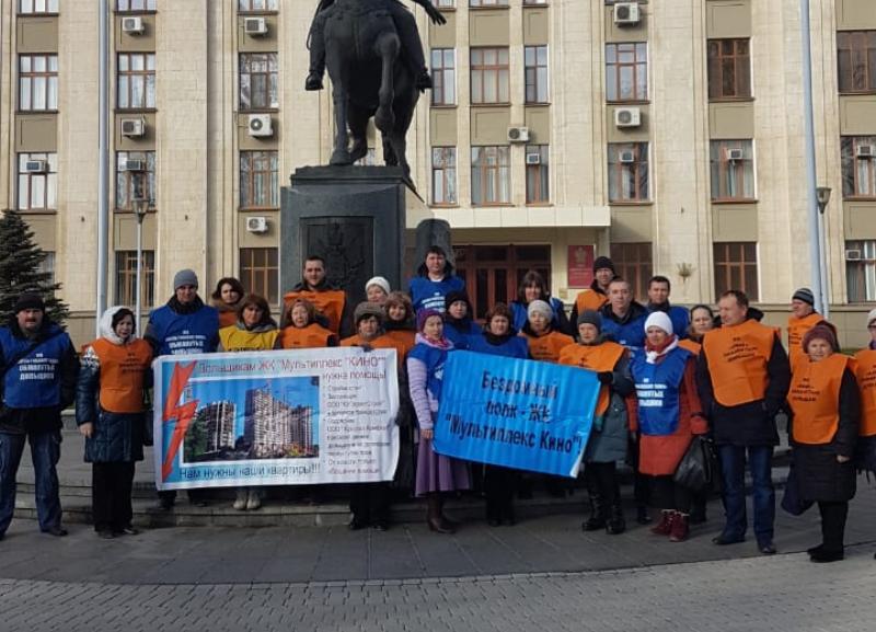 Дольщик ЖК «Мультиплекс Кино» прекратил голодовку после встречи с губернатором Кубани
