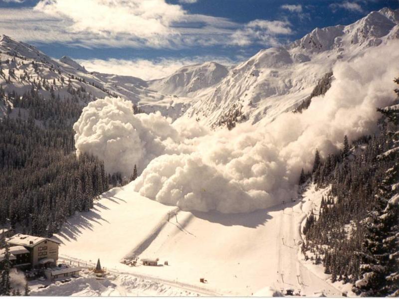 Слабая лавиноопасность ожидается в горах Сочи