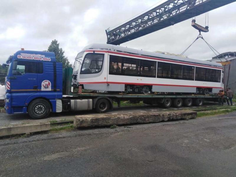 Первый новый трамвай отправили в Краснодар