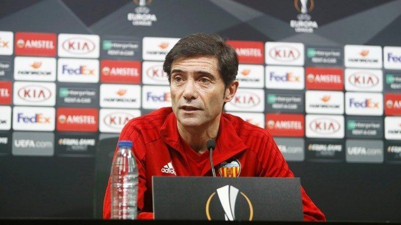 «Если бы это была не очень хорошая команда, она не прошла бы «Байер», - тренер «Валенсии» о «Краснодаре»