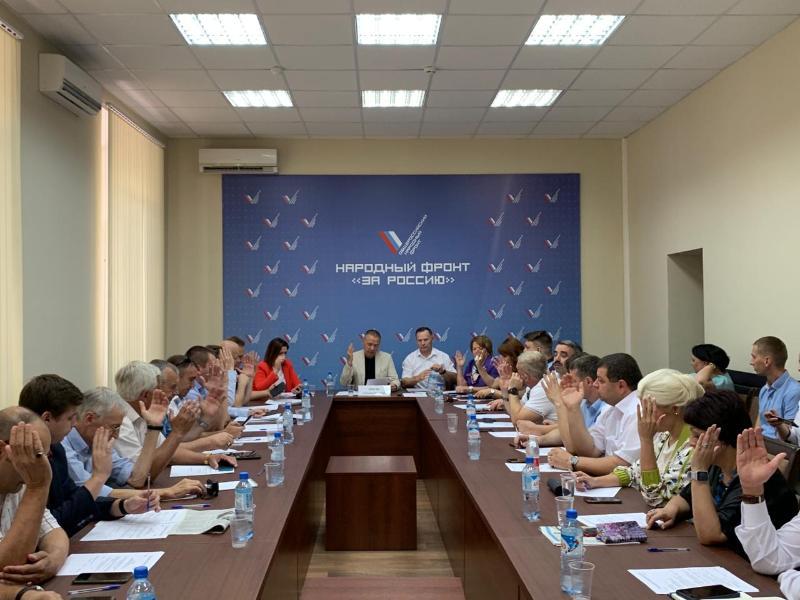 Активисты ОНФ по Краснодарскому краю отчитались о проделанной работе за первое полугодие