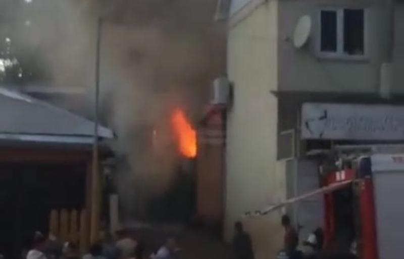 В Краснодаре произошел очередной пожар
