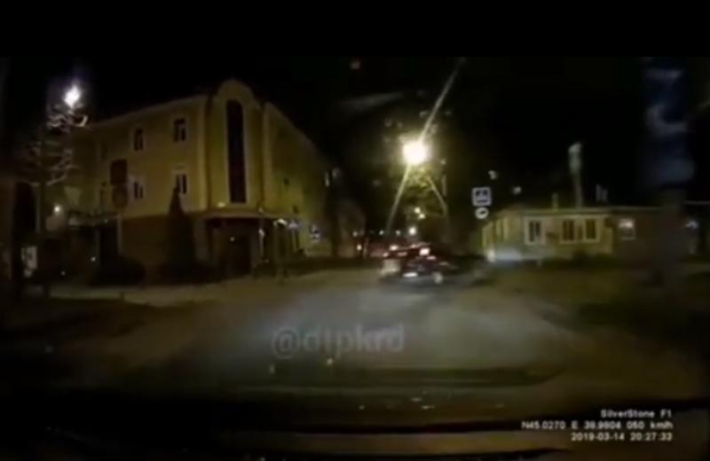 Аномальный центр: очередное ДТП произошло в Краснодаре