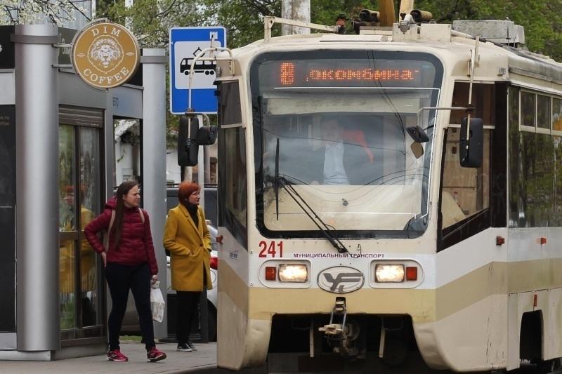 Трамвай №8 в Краснодаре на три вечера изменит свой маршрут