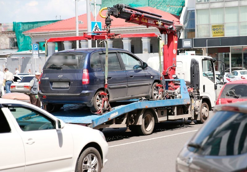 Портал с данными об эвакуированных автомобилях создали в Краснодаре