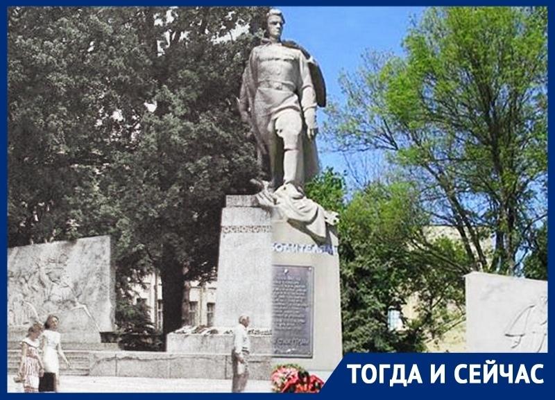 Символ героизма советских воинов-освободителей в Краснодаре спустя 54 года