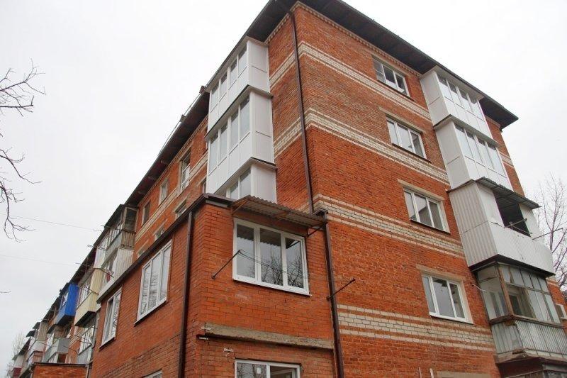 Дом, пострадавший от взрыва газа в Краснодаре, восстановили