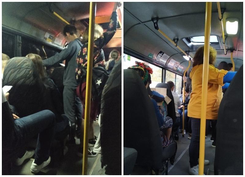 Краснодарцы провели самостоятельный «мониторинг» маршрута №85 и показали его популярность