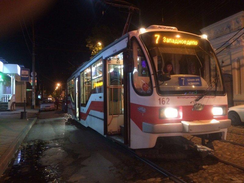 Трамваи №5 и №8 в Краснодаре один день будут ходить в обход