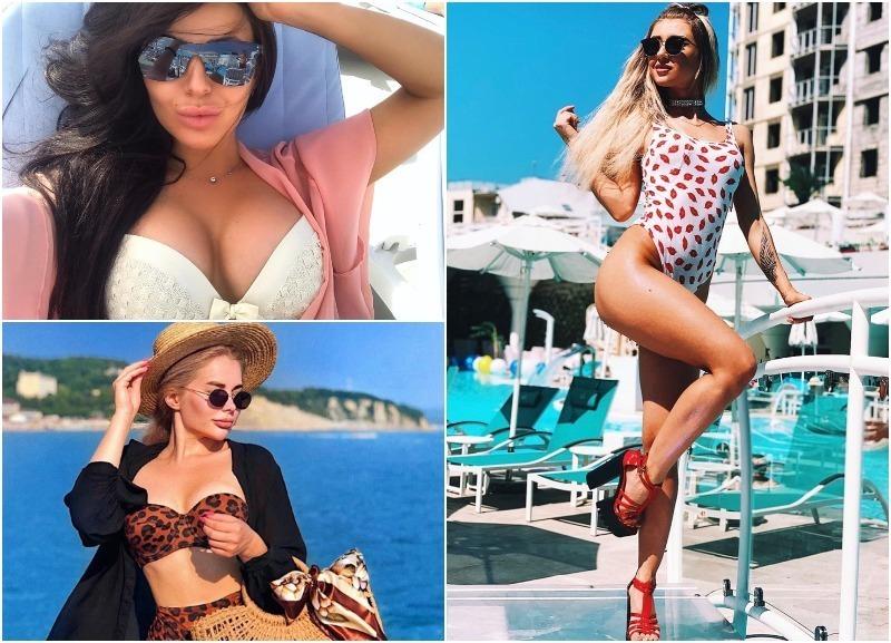 InstaЖар: горячие девушки на пляжах Краснодарского края
