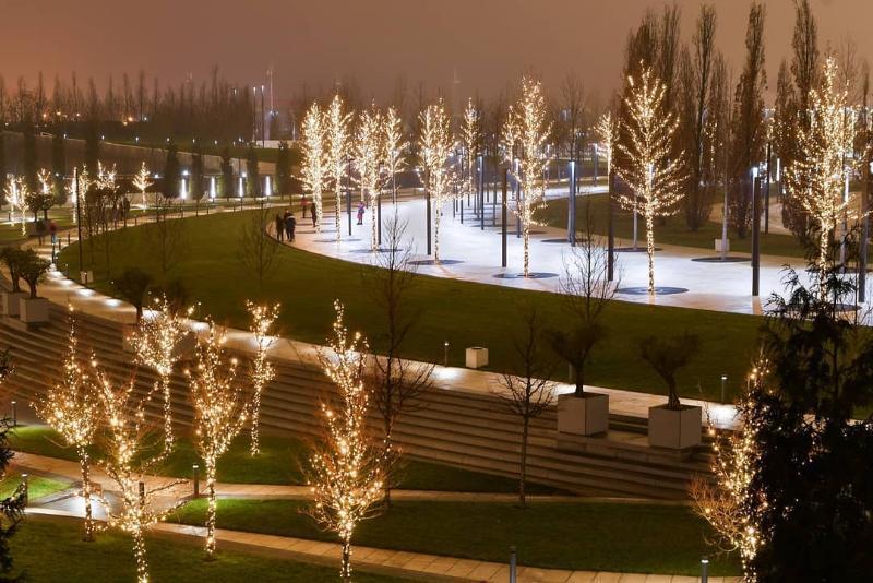 «Это было сказочно красиво»: праздничную иллюминацию в парке «Краснодар» скоро снимут