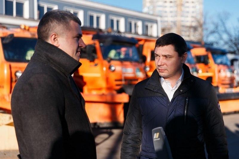 Спецтехнику в Краснодаре подготовили к похолоданию и снегопадам