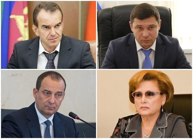 Первые лица Краснодарского края резко упали в рейтинге СМИ