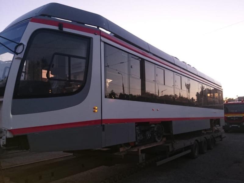 В Краснодар прибыл 15 трамвай