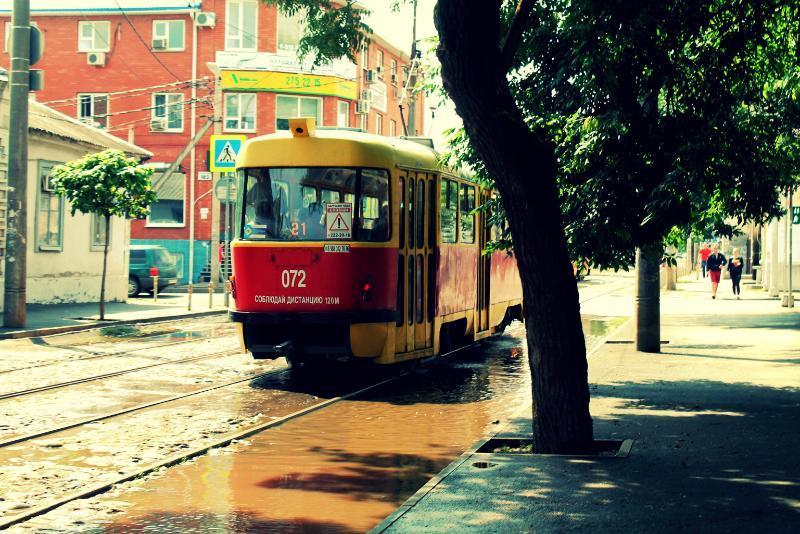 Сразу несколько трамваев в Краснодаре изменят свой маршрут