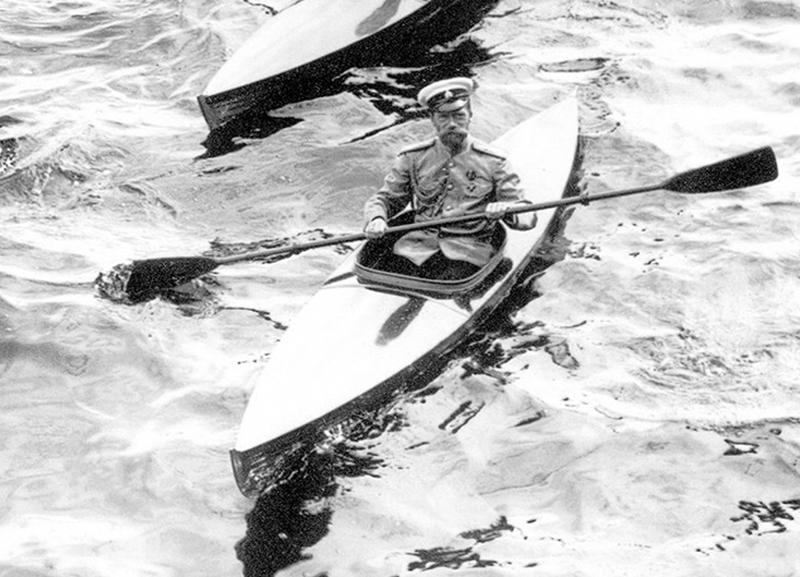 Будь как царь: Николай II был поклонником сплава по реке