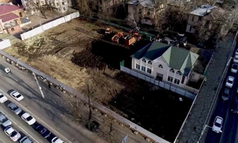 На перекрестке улиц Седина и Постовой в Краснодаре, где был забор и пустырь, сделают сквер